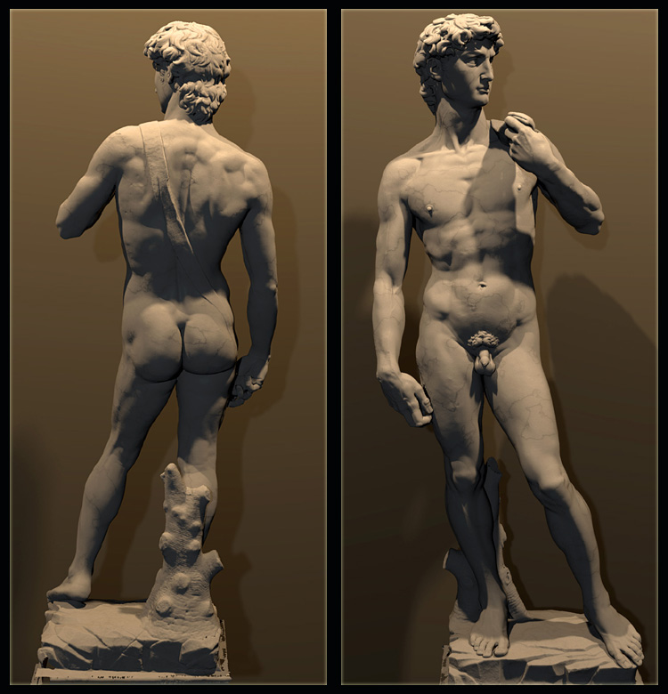 The Digital Michelangelo Project