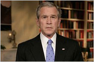 George Bush takes blame for getting Iraq wrong, Jan 10 2007