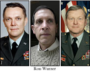 Three retired officers --�� Brig. Gen. Virgil A. Richard; Rear Adm. Alan M. Steinman; and Brig. Gen. Keith H. Kerr --�� came out and blasted DADT.