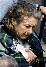 Giuliana Sgrena after military attack on her
