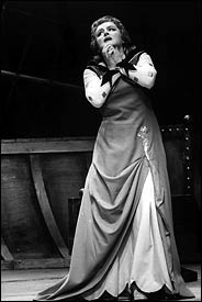 Birgit Nilsson in Uncomfortable Dress
