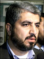 Khaled Meshal - Leader of extremist terror organization Hamas, cowardly hiding in Damascus