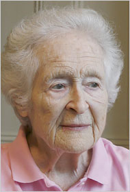 Dame Mary Douglas, pictured in March 2006 shortly before her death