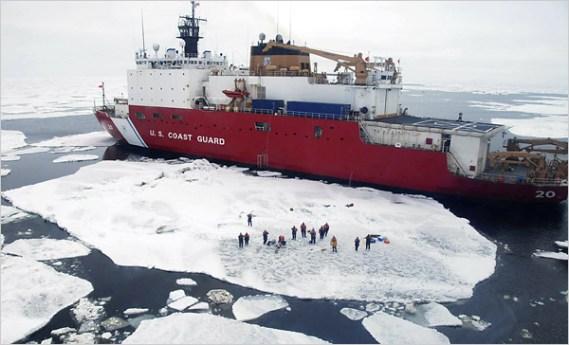 New York Times Arctic Image