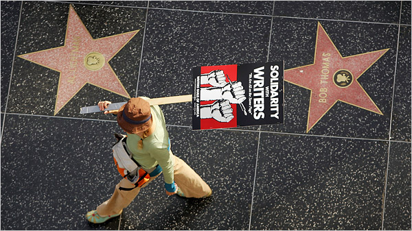 Hollywood Writer's Guild of America 2007-2008 Strike
