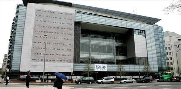 Newseum Facade