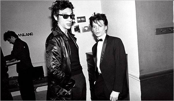 James Chance (on right)