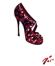 Ruby Slipper by Jimmy Choo