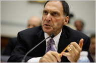 "The chief of the now-bankrupt Lehman Brothers, Richard S. Fuld Jr., told irate members of Congress that all his decisions ""were both prudent and appropriate"" given the information he had at the time."