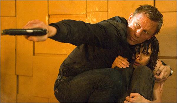 Daniel Craig and Olga Kurylenko Quantum of Solace