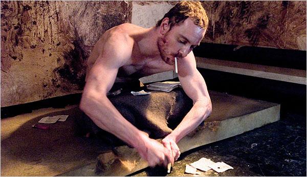 El protagonista de Hunger, en una escena de la película