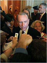 Arlen Specter, the Republican senator from Pennsylvania.