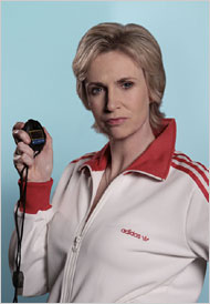 Jane Lynch is my favorite thing about Glee.