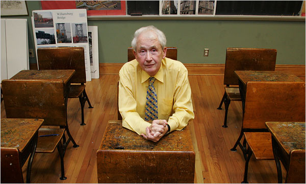 Frank McCourt - image from the NY Times