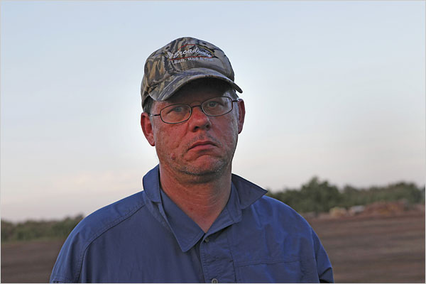Mr. Vollmann collects pistols and likes to shoot them.