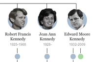Kennedy Family Tree: Three Generations of Politics