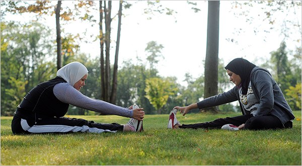 muslim women fitness healthy Busy? Make An Effort To Stay Healthy! 10fit 600