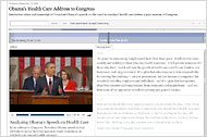 Obama's Health Care Address to Congress