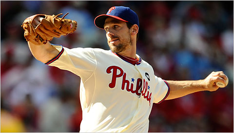 Cliff Lee pitched the best game of any starter yesterday pitching the Phillies to a 5-1 win over the Rockies.