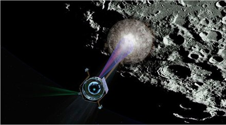 água na Lua