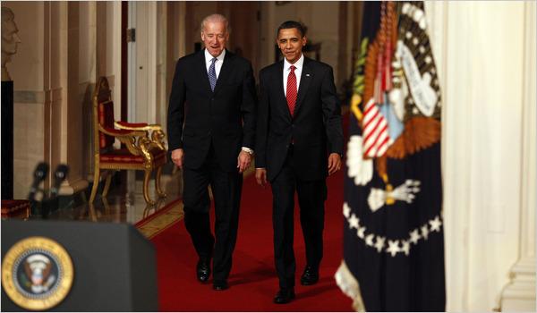 Obama i el Vicepresident Biden.