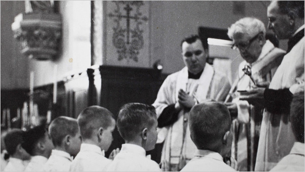 Father Murphy in 1960