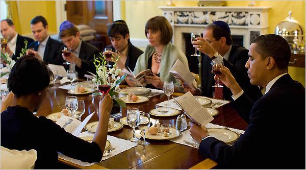 Seder at White House