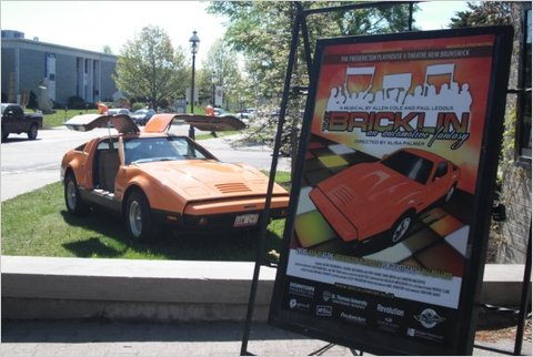 """""""The Bricklin: An Automotive Fantasy,"""" a musical based on the failure of the Bricklin SV-1, will open at the Fredericton Playhouse in New Brunswick, Canada, at the end of July."""
