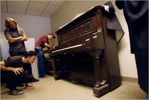 Irving Berlin's transposing piano