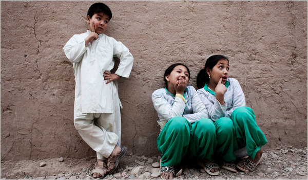 Afghan Boys Are Prized, So Girls Live the Part