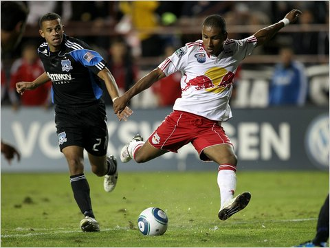 Juan Agudelo became the fourth-youngest player in M.L.S. to start a playoff game when he teamed with Juan Pablo Angel in the Red Bulls' attack against the Earthquakes last Saturday.