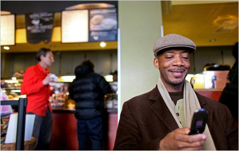 hjemløs i New York - på Twitter © New York Times