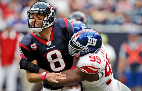 The better Arian Foster gets, the more Matt Schaub and the Texans' passing game takes a back seat.