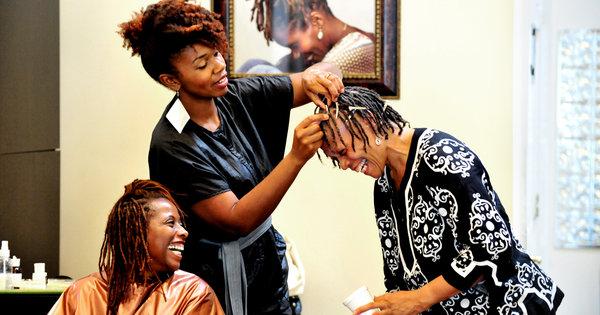 black hair, black women's hair, black women, african american women