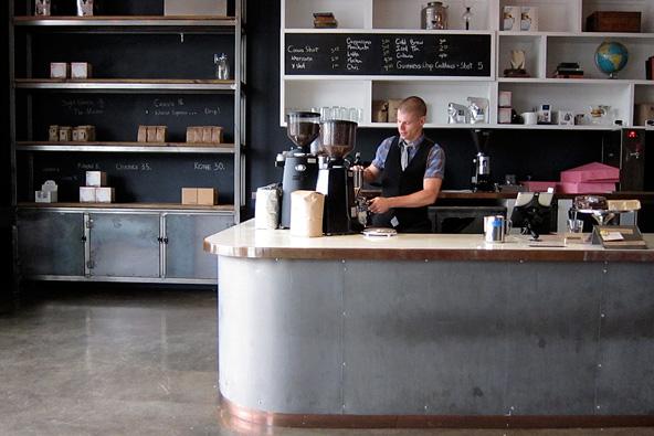Coffee Commissary, on Fairfax Boulevard.