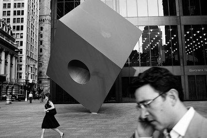 Noguchi Cube, New York