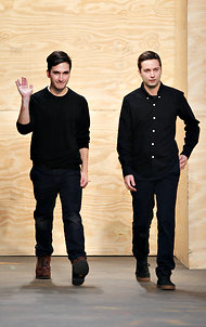 Lazaro Hernandez, left, and Jack McCollough, the designers behind Proenza Schouler, were among the womenswear nominees.