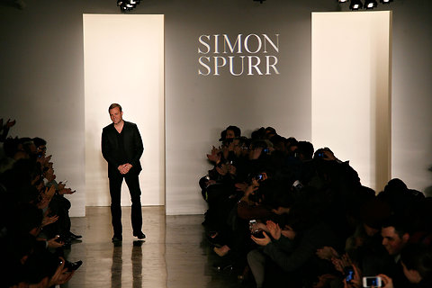 Simon Spurr was among the menswear designer of the year nominees.