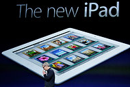 The retina display is one of the main selling points of the new iPad.