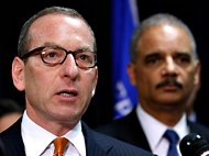 In 2010, Lanny A. Breuer, left, head of the Justice Department's criminal division, created a task force on money laundering.