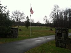 NYTimes: B'Nai Israel Cemetery in Monroe, Conn., where Noah Pozner, 6, is to be buried today.