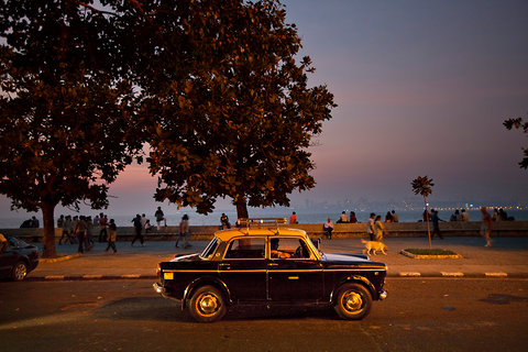 A Premier Padmini taxi in Mumbai, in this Dec. 8, 2012 file photo.