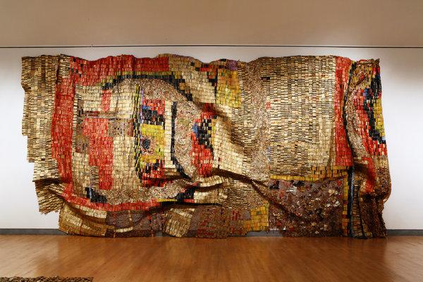 El Anatsui, Earths Skin, 2007.
