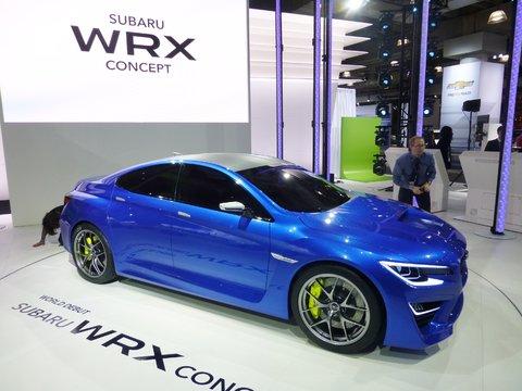 Subaru WRX Concept.