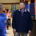 Aaron Sydow, the principal of Fairview School in West Plains, Mo., monitoring the halls.