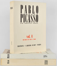 """""""Pablo Picasso,"""" a catalogue raisoné by Christian Zervos, is to be republished this fall."""