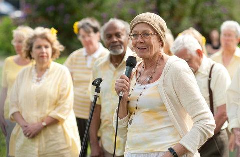 Vanessa Redgrave, 75, in the film