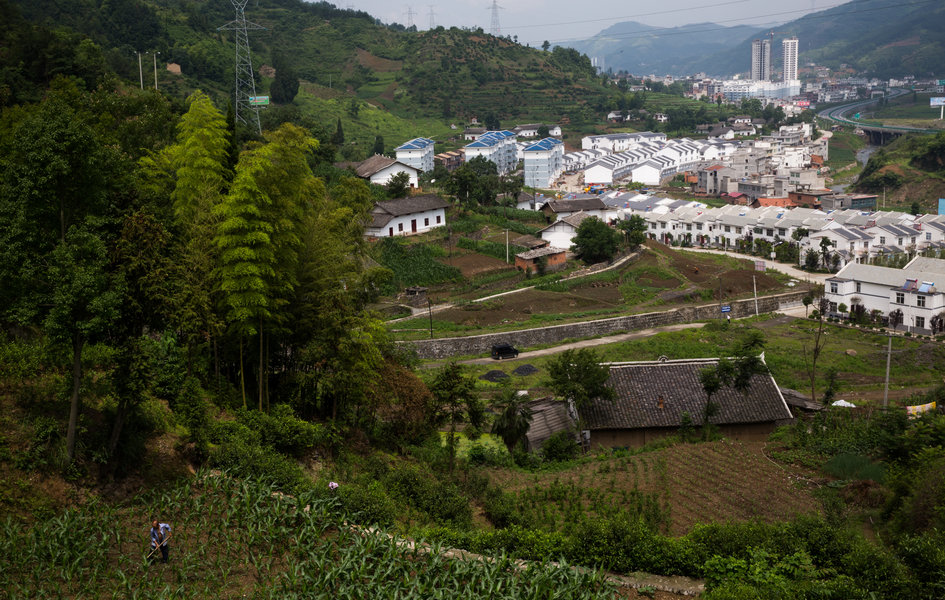 Qiyan in Sha'anxi province