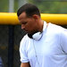 Alex Rodriguez leaving the Yankees' minor league complex Thursday.