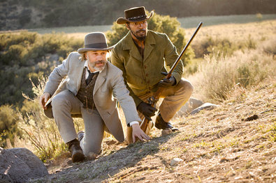 """Django Unchained"" (2012), directed by Quentin Tarantino, with Christoph Waltz, left, and Jamie Foxx."